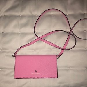 Kate spade iPhone crossbody wallet
